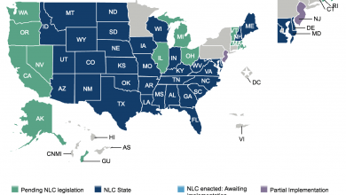 The Complete List of Compact Nursing States in 2021